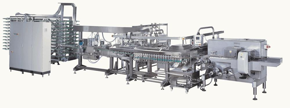 Dây chuyền sản xuất kem que - Teknoline