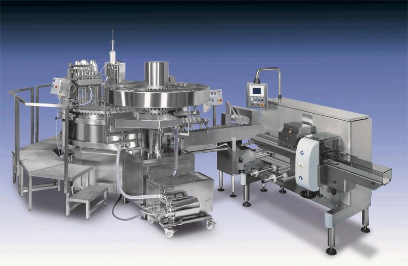 Dây chuyền sản xuất kem que dạng xoay ROTOSTICK